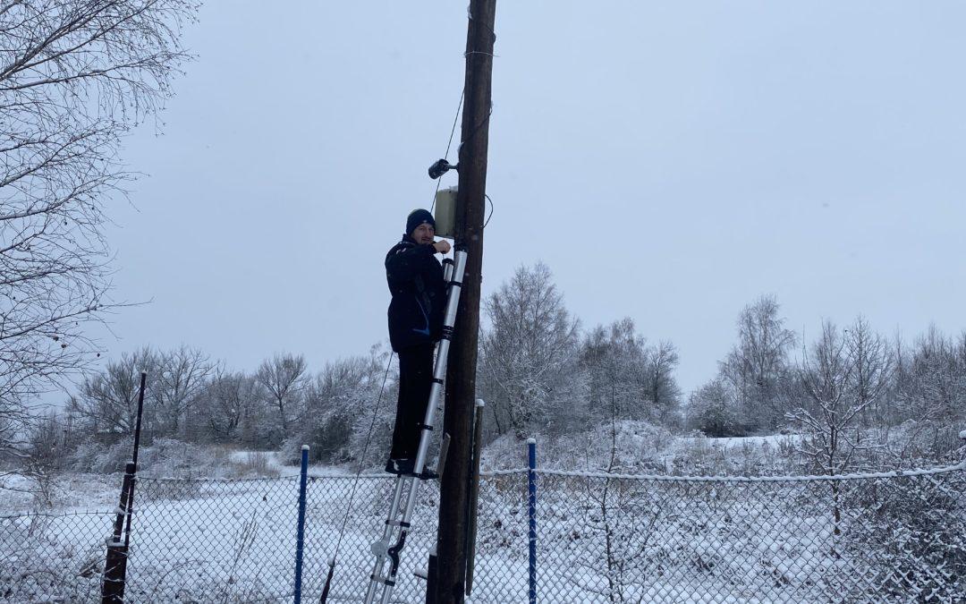 Pracujeme i ve sněhu